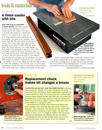 Fine Woodworking Article